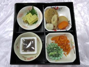 特別食 夕食のお弁当例