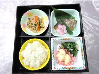 特別食 昼食のお弁当例