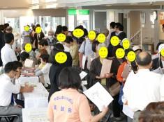 たくさんの市民の皆様が参加されました。