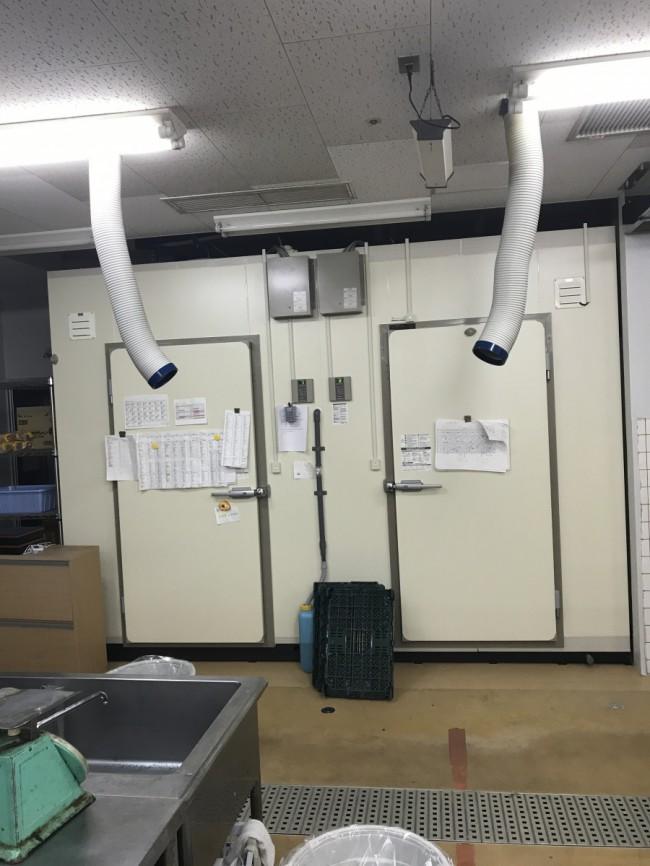 冷凍庫・冷蔵庫を増設しました。